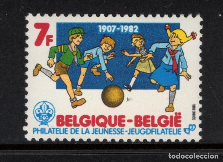 BELGICA 2065** - AÑO 1982 - 75º ANIVERSARIO DEL MOVIMIENTO SCOUT (Sellos - Temáticas - Boy Scout)