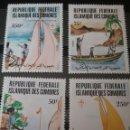 Sellos: SELLOS U. COMORAS (R.F.I. COMORES) NUEVOS/1982/75 ANIV. MOVIMIENTO BOY SCOUTS/BARCA/VELERO/PAISAJES. Lote 137613566
