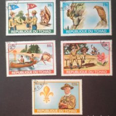 Sellos: 1972 CHAD ENCUENTRO MUNDIAL SCOUT. Lote 141954778