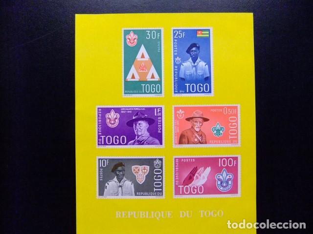 REPUBLIQUE TOGOLAISE 1961 SCOUTISMO YVERT BLOC 5 ** MNH (Sellos - Temáticas - Boy Scout)