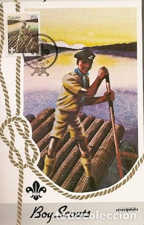 TRANSKEI & MAXI, 75 ANIVERSARIO. BOY SCOUTS, UMTATA 1982 (105) (Sellos - Temáticas - Boy Scout)