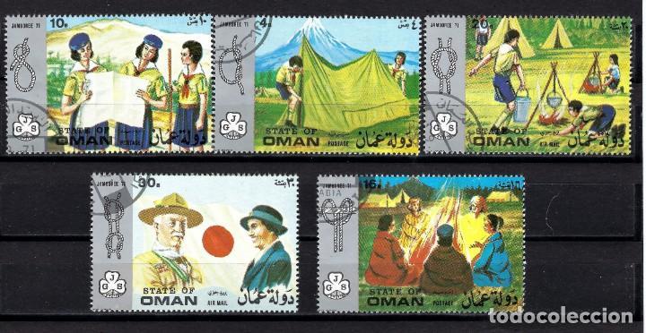 OMAN 1971 JAMBOREE 71 BOY SCOUTS EXPLORADORES (Sellos - Temáticas - Boy Scout)