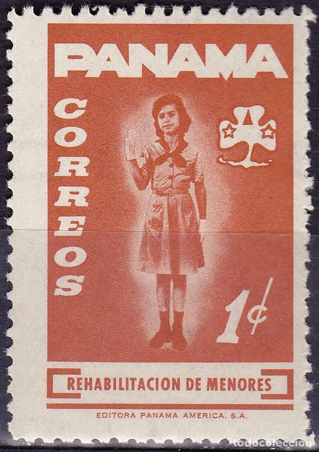 1964 - PANAMA - REHABILITACION DE MENORES - SCOUTS - YVERT 379 (Sellos - Temáticas - Boy Scout)