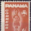 Sellos: 1964 - PANAMA - REHABILITACION DE MENORES - SCOUTS - YVERT 379. Lote 149874274