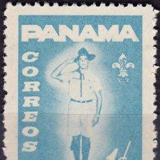 Sellos: 1964 - PANAMA - REHABILITACION DE MENORES - SCOUTS - YVERT 384. Lote 149874554