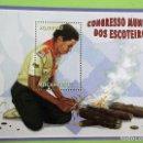 Sellos: MOZAMBIQUE. HB 89 SCOUTISMO: SCOUT ENCENDIENDO FUEGO. 2002. SELLOS NUEVOS Y NUMERACIÓN YVERT. Lote 153937560