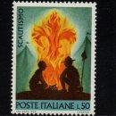 Sellos: ITALIA 1012** - AÑO 1968 - MOVIMIENTO SCOUT. Lote 159523322