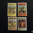 Sellos: BOY SCOUTS-ST.LUCIA-1982-SERIE COMPLETA**(MNH). Lote 159772642