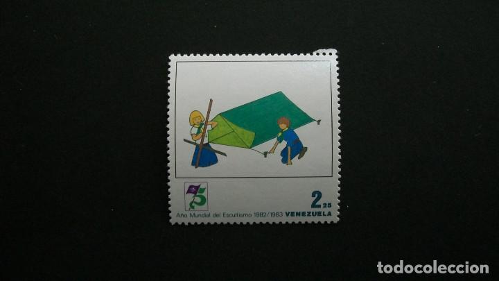 BOY SCOUTS-AÑO MUNDIAL-VENEZUELA-1983-2,25B. SELLO EN NUEVO**(MNH) (Sellos - Temáticas - Boy Scout)