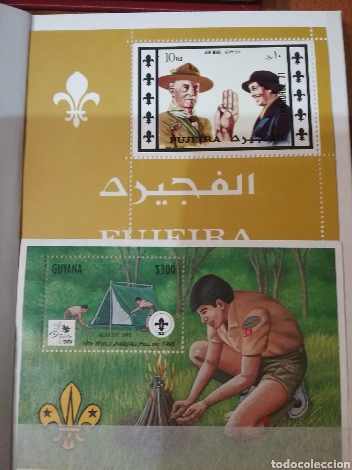 MINI-CLASIFICADOR SCOUTS/MISMO PRECIO; CON O SIN MINI-CLASIFICADOR/MTDOS+USADOS(2)/VER FOTOS (Sellos - Temáticas - Boy Scout)