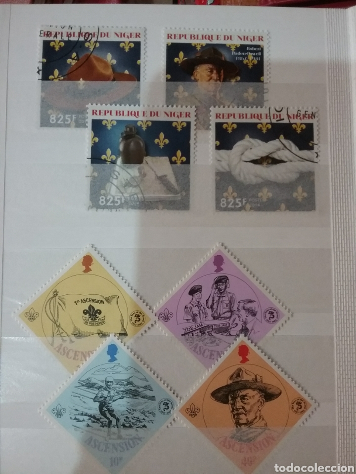 Sellos: MINI-Clasificador Scouts/Mismo precio; con o sin MINI-clasificador/mtdos+usados(2)/VER FOTOS - Foto 7 - 160667492