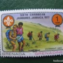 Sellos: GRENADA, 1977 TEMA SCOUTISMO. Lote 166601606