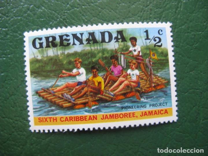GRENADA, SELLO NUEVO TEMA SCOUTISMO (Sellos - Temáticas - Boy Scout)