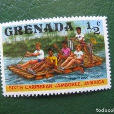Sellos: GRENADA, SELLO NUEVO TEMA SCOUTISMO. Lote 166604434