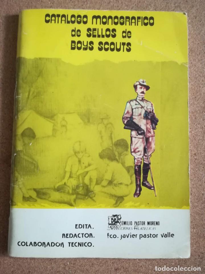 CATALOGO MONOGRAFICO DE SELLOS DE BOYS SCOUTS. 1982 - 1983 (Sellos - Temáticas - Boy Scout)