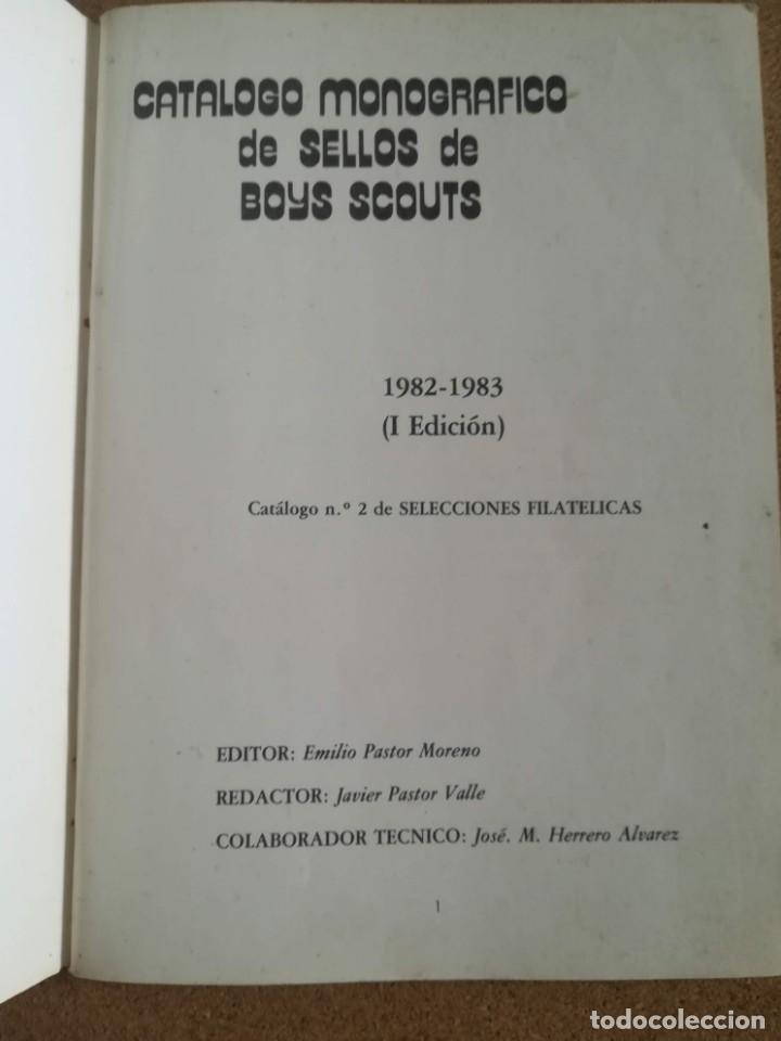 Sellos: Catalogo Monografico de Sellos de Boys Scouts. 1982 - 1983 - Foto 2 - 167460000