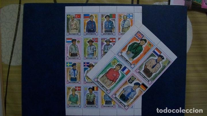 AJMAN-1971-SERIE COMPLETA**(MNH) (Sellos - Temáticas - Boy Scout)