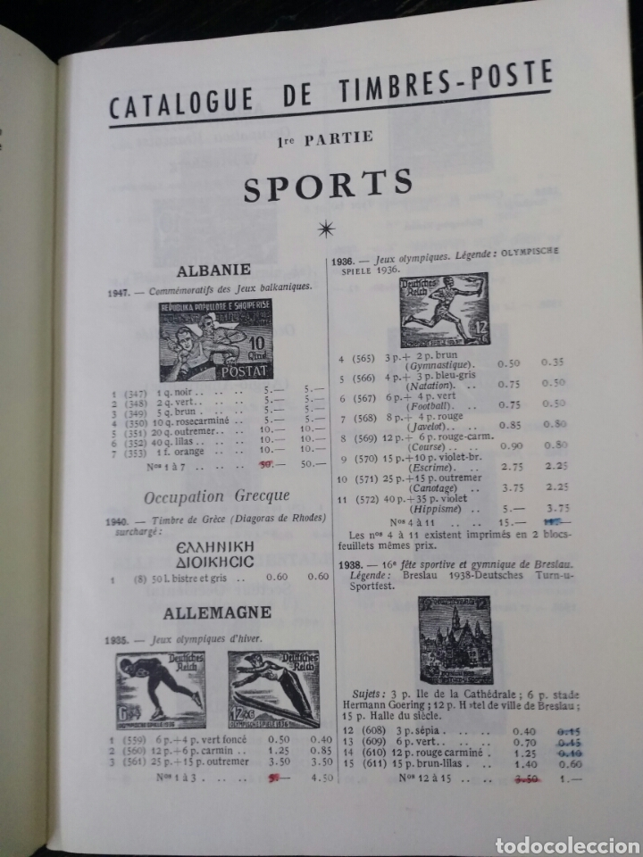Sellos: CATALOGUE DE TIMBRES-POSTE. SPORTS ET SCOUTISME. BRUN. PARÍS, 1960. ESCULTISMO - Foto 2 - 167805508
