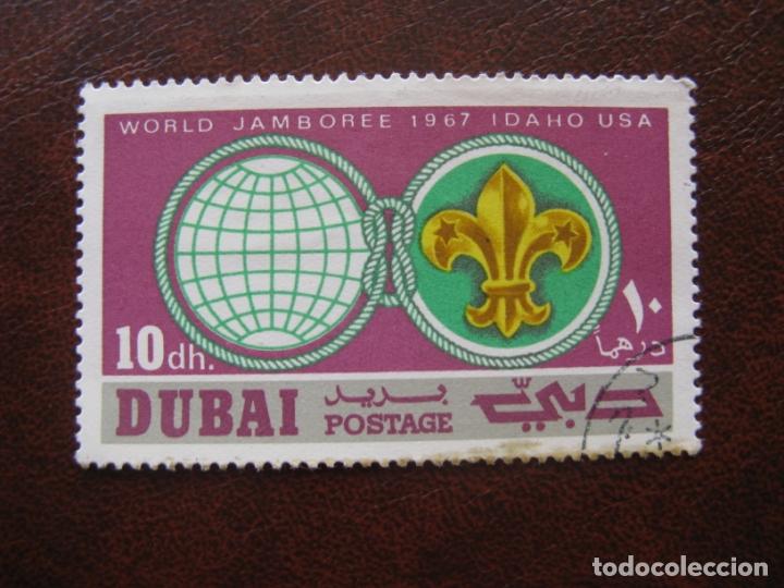 ARABIA SUDESTE, DUBAI, TEMA SCOUTISMO (Sellos - Temáticas - Boy Scout)