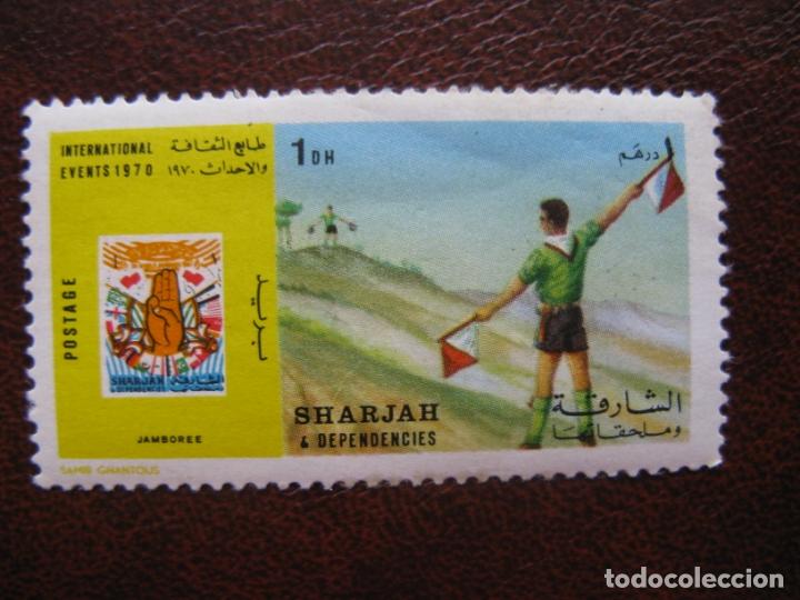 ARABIA SUDESTE, SHARJAH, 1970 TEMA SCOUTISMO (Sellos - Temáticas - Boy Scout)