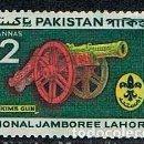 Sellos: PAKISTAN Nº 130, 3º JAMBOREE NACIONAL DE LOS BOY SCOUTS DE PAKISTÁN EN LAHORE (1960), NUEVO SEÑAL CH. Lote 168471564