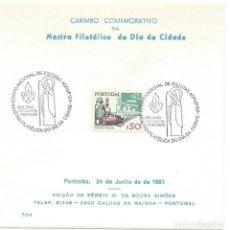 Sellos: 1985. PORTUGAL. PORTIMAO. MATASELLOS/POSTMARK. EXPOSICIÓN FILATÉLICA. ESCULTISMO/SCOUTING.. Lote 176913664
