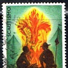 Sellos: (I 702) SELLO DE ITALIA // YVERT 1012 // 1968 .. BOY SCOUTS. Lote 177674389