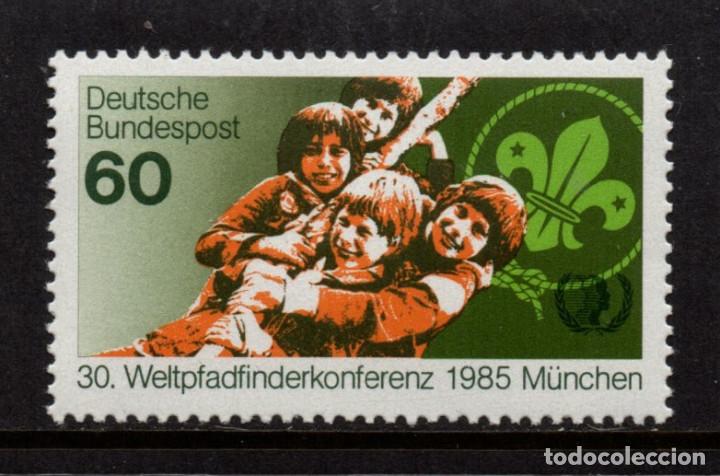 ALEMANIA 1086** - AÑO 1985 - SCOUT - CONFERENCIA MUNDIAL DE ESCOUTISMO (Sellos - Temáticas - Boy Scout)