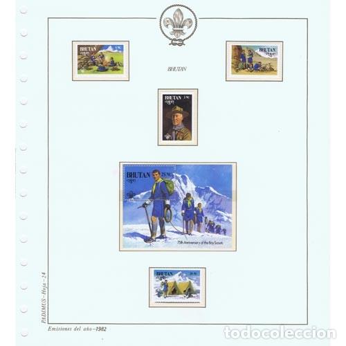 Sellos: COLECCION SELLOS NUEVOS BOY SCOUTS 75 AÑOS ESCULTISMO EN ALBUM - Foto 3 - 180842386