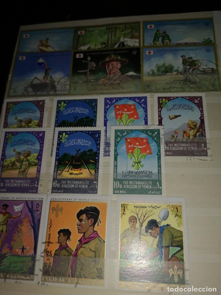 Sellos: Colección variada sellos temática Boys scouts - Foto 2 - 192264475