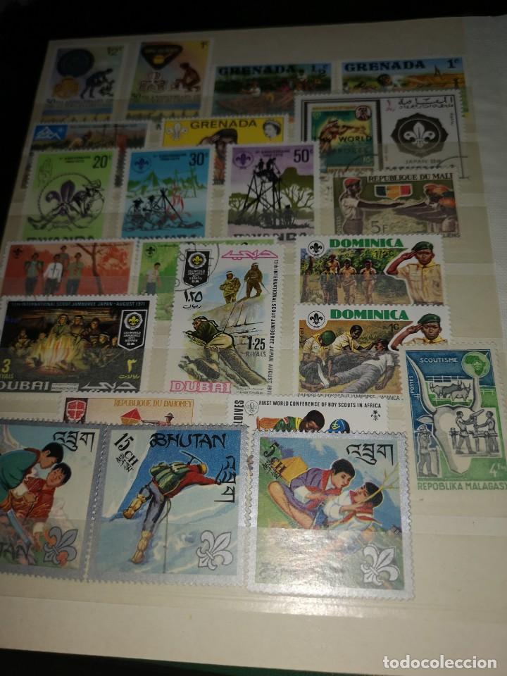 Sellos: Colección variada sellos temática Boys scouts - Foto 6 - 192264475
