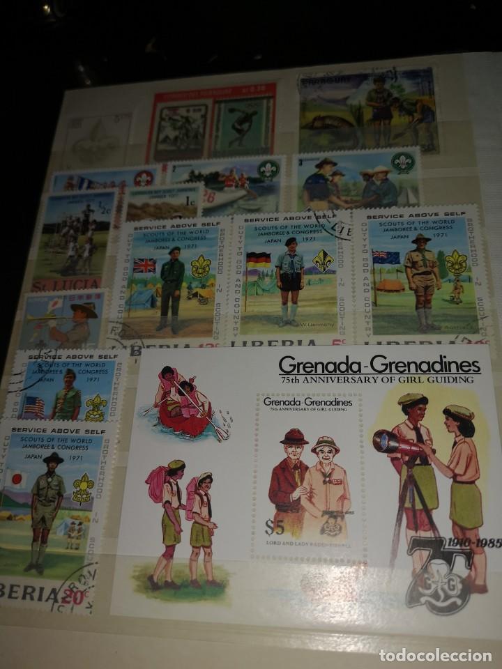 Sellos: Colección variada sellos temática Boys scouts - Foto 8 - 192264475