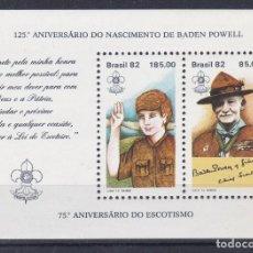 Francobolli: BRASIL.- HOJA BLOQUE. 50 NUEVO SIN CHARNELA.. Lote 198678485