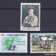Timbres: CHIPRE.- SERIE Nº 567/69 NUEVA SIN CHARNELA.. Lote 222257926