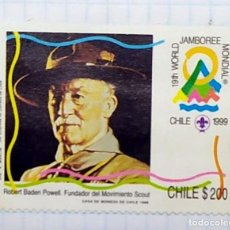Timbres: CHILE JAMBOREE SCOUT PICARQUIN YVERT 1998 02. Lote 201543480
