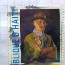 Timbres: HAITI EDUCACION BADEM POWELL BOY SCOUT. Lote 201813558