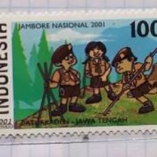 Timbres: INDONESIA JAMBORE NASIONAL 2001 BATURRADEN JAWA TENGA. Lote 201813852