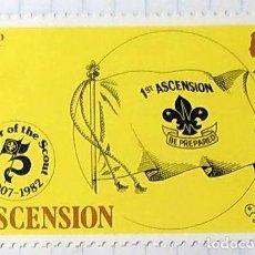 Sellos: ASCENSION BOY SCOUTS EL AÑO DE LOS SCOUTS 1907 1982 02. Lote 202269142