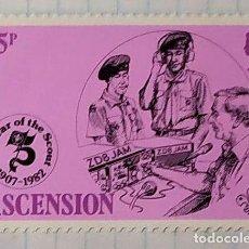 Sellos: ASCENSION BOY SCOUTS EL AÑO DE LOS SCOUTS 1907 1982 03. Lote 202269173
