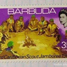 Sellos: BARBUDA BOY SCOUT 3 RD CARIBBEAN SCOUT JAMBOREE 1969 02. Lote 202300626
