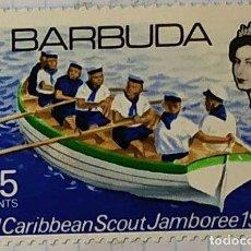 Sellos: BARBUDA BOY SCOUT 3 RD CARIBBEAN SCOUT JAMBOREE 1969 03. Lote 202300745