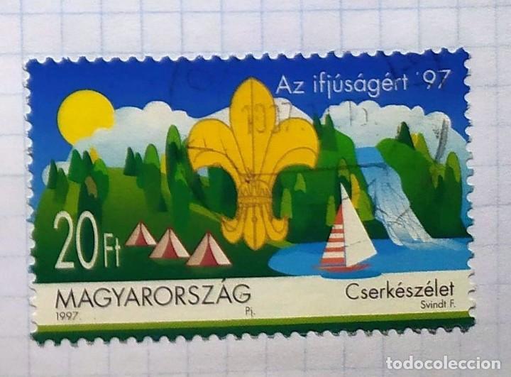 HUNGRIA BOY SCOUTS 1997 MAGYARORSZAG CSERKESZELET (Sellos - Temáticas - Boy Scout)