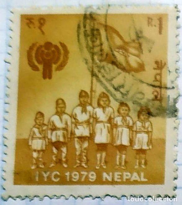 NEPAL BOY SCOUTS 1979 IYC (Sellos - Temáticas - Boy Scout)