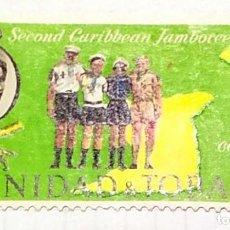 Sellos: TRINIDAD Y TOBAGO BOY SCOUTS SECOND CARIBBEAN JAMBOREE ABRIL ABRIL 01. Lote 202322791