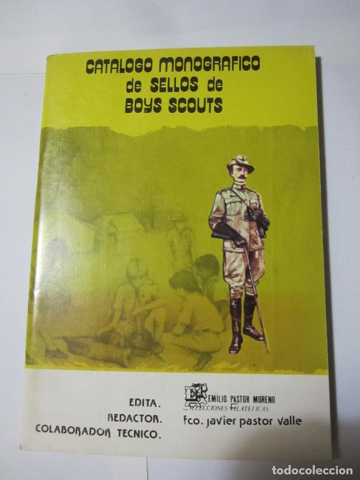 CATALOGO MONOGRAFICO DE SELLOS DE BOYS SCOUTS (Sellos - Temáticas - Boy Scout)