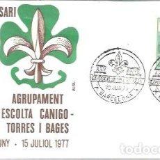 Sellos: MATASELLOS 1977 ESPAÑA TEMA BOY SCOUTS. Lote 215131783