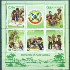 Sellos: MS4430 CUBA 2002 MNH PIONEER EXPLORERS, SCOUTS. Lote 226321970