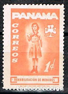 PANAMA, VIÑETA, REHABILITACION DE MENORES (Sellos - Temáticas - Boy Scout)