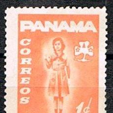 Sellos: PANAMA, VIÑETA, REHABILITACION DE MENORES. Lote 239466430