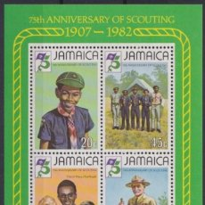 Sellos: F-EX21601 JAMAICA MNH 1982 BOYS SCOUTS LORD BADEB POWELL.. Lote 244621855